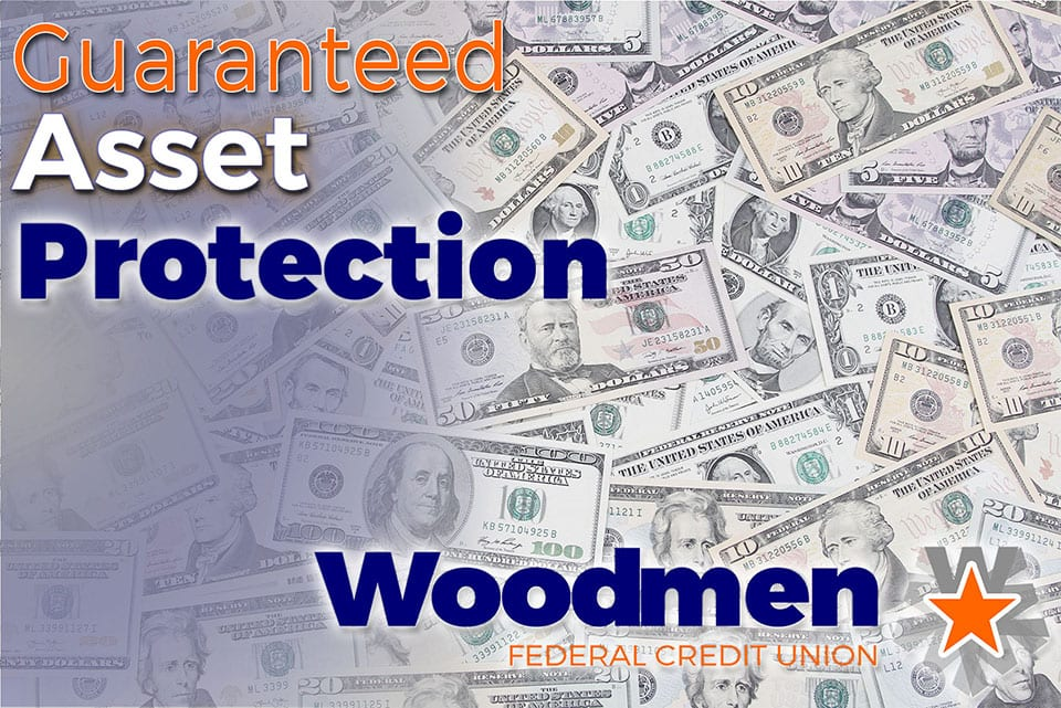 Guaranteed Asset Protection at Woodmen Federal Credit Union