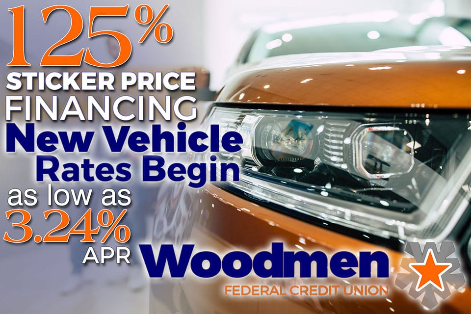 125% Sticker Price Financing!