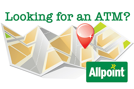 It's easy to locate an Allpoint ATM!