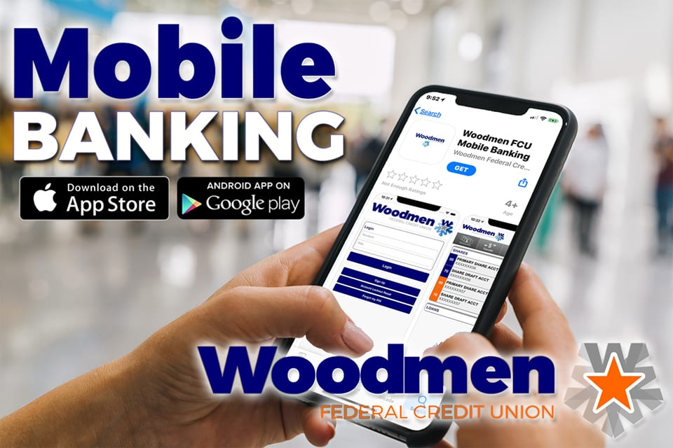 Mobile Banking at Woodmen FCU