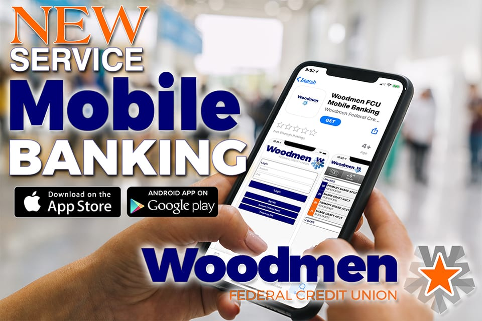 NEW SERVICE – MOBILE BANKING!