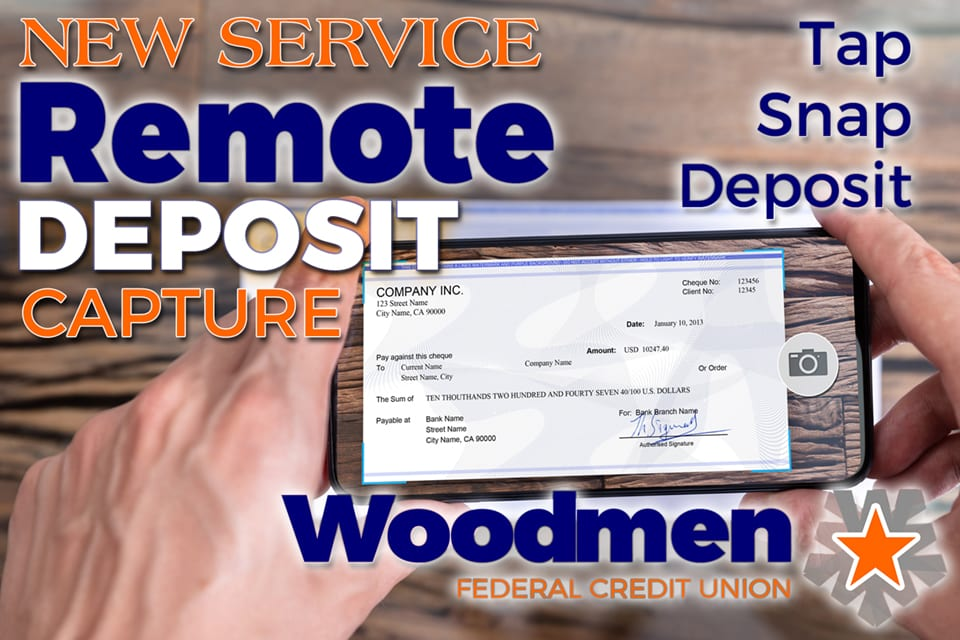 New Service – Remote Deposit Capture!